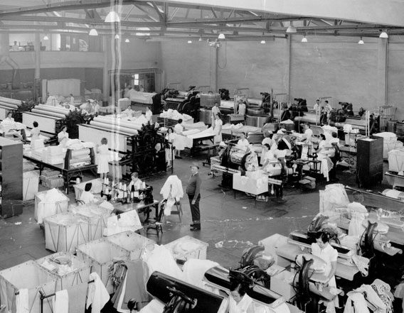 Mission Linen in the 1930's