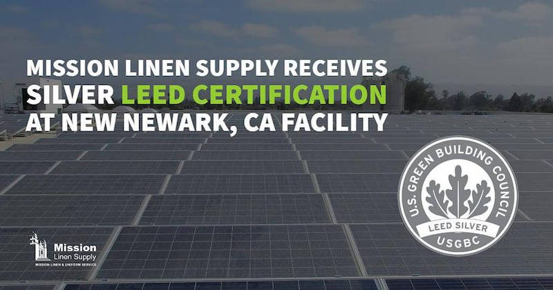 Mission Linen LEED Certification